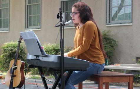 Senior captures the crowd at Fiesta Friday with voice