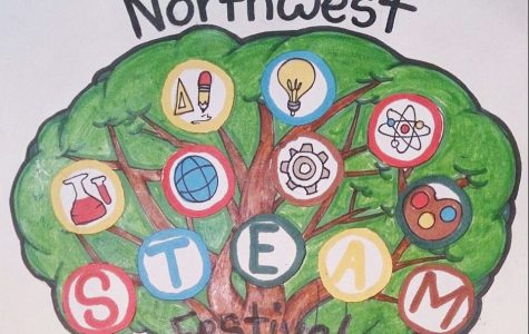 Senior Danielle Valenzuela wins T-shirt design contest for the Northwest STEAM Fest