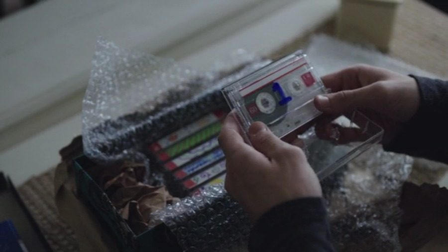 Screenshot from Netflix Hannah Baker (Katherine Langford) sends cassette tapes, each telling the story of her decision to end her life, to the 13 people she deemed responsible for her death.