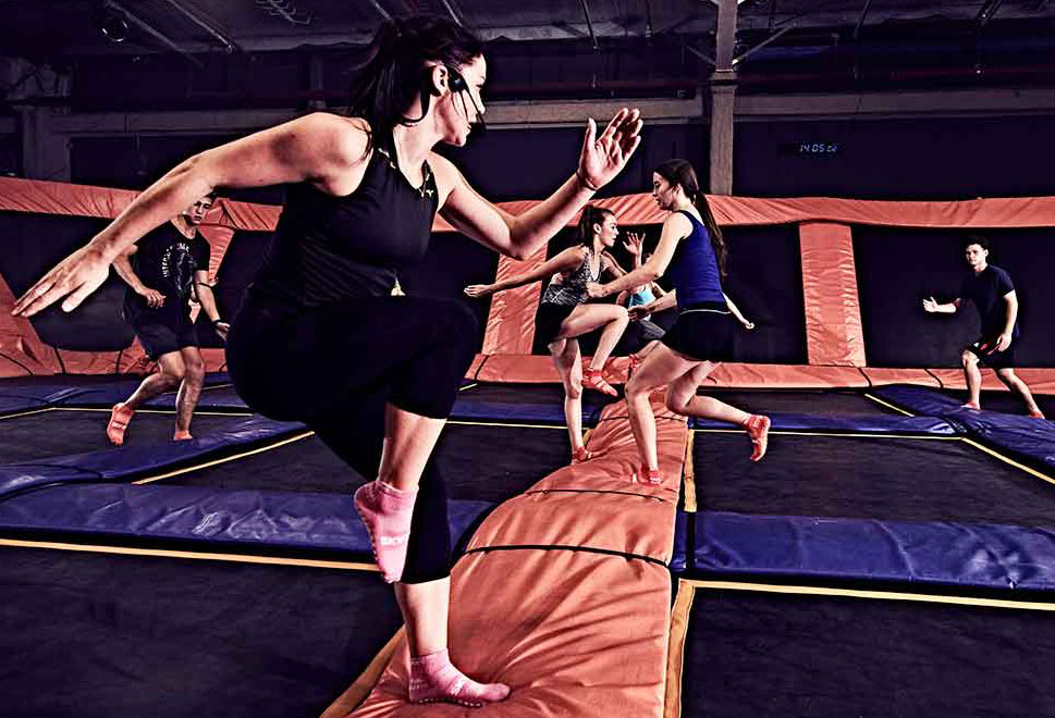 Over summer vacation, there are many affordable places to visit such as Skyzone.