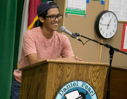 Poetry slam performances feature hidden talents