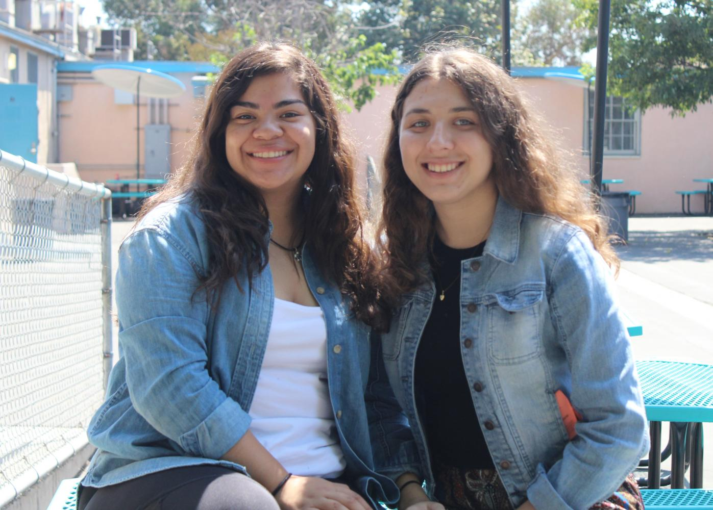 Online Editor-in-Chief Jessica Salguero and Editor in Chief Cristina Jercan get ready to lead the 2017-2018 DPMHS Media staff into a new year of school-wide coverage.