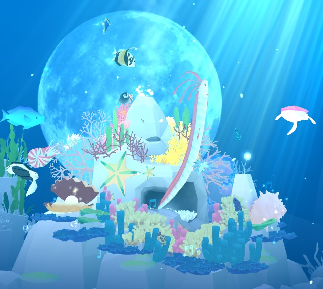 Create your own virtual aquarium with hundreds of fish species. Try to find the hidden fish!