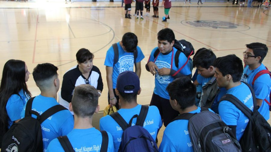 Twelve students attended the second annual soccer tournament.