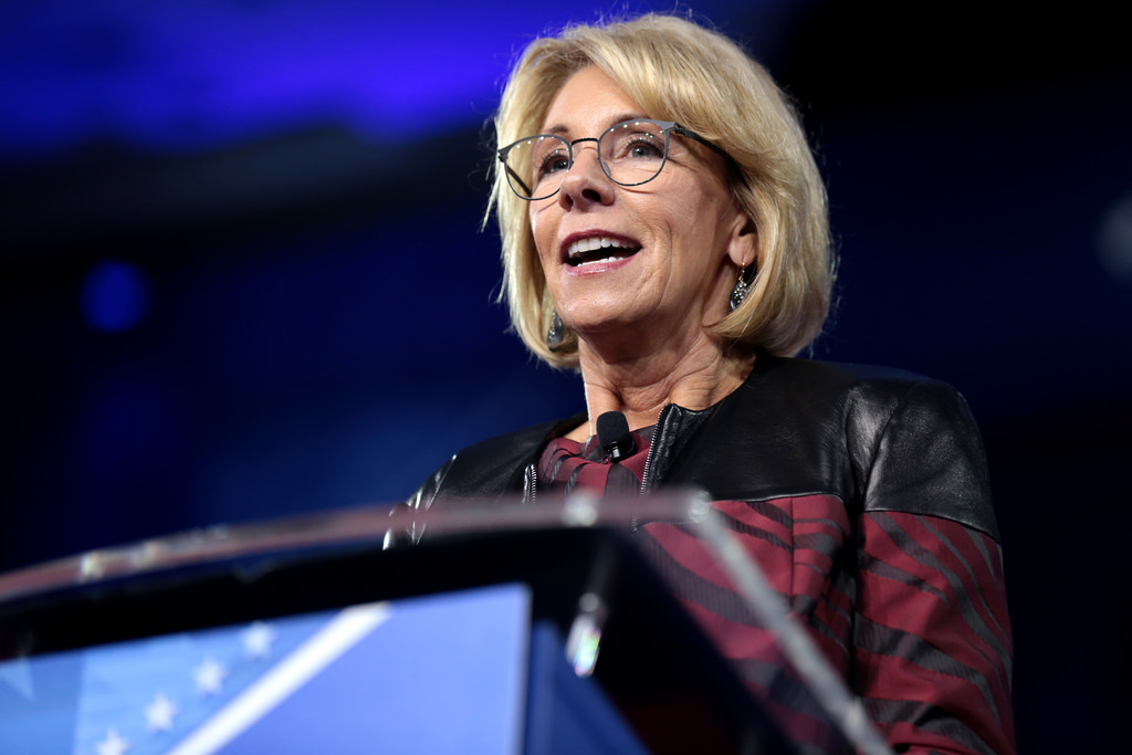 Secretary of Education Betsy DeVos plans on making changes to Title IX, which will impact how sexual assault claims are handled by schools.