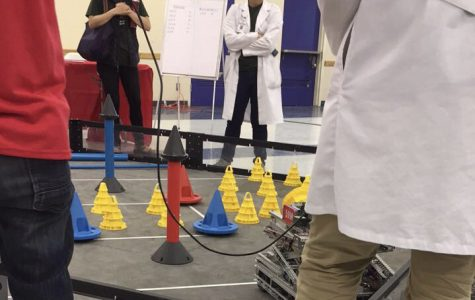 Robotics students take part in competition