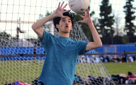 Boys volleyball team trains for the season ahead