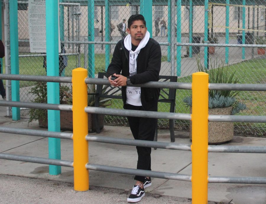 Principal Deb Smith contacted Los Angeles Unified School District and requested that a buzzer be placed at the school's front gate to monitor who enters campus. Aide Alex Renderos stands in front of the school for 30 minutes every Monday to Thursday.