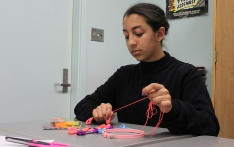 Arts and Crafts Club co-president Marjina Haque started the club with her friends so they could bond and have a creative space.