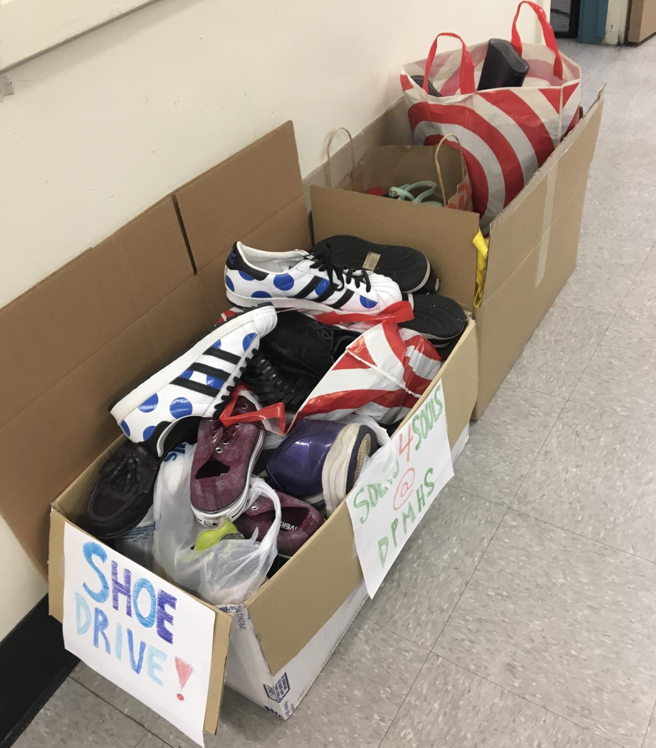 Organizing a shoe drive is an easy way to fulfill your service-learning project requirements and help your community.