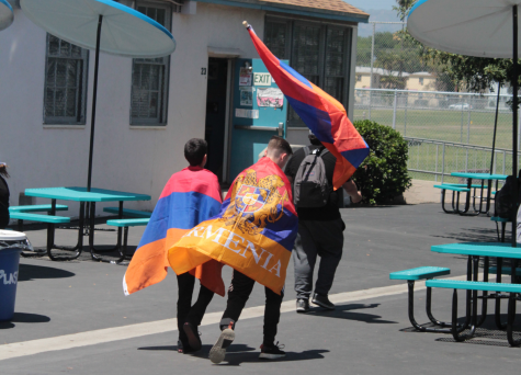 Protests for recognition of the Armenian genocide