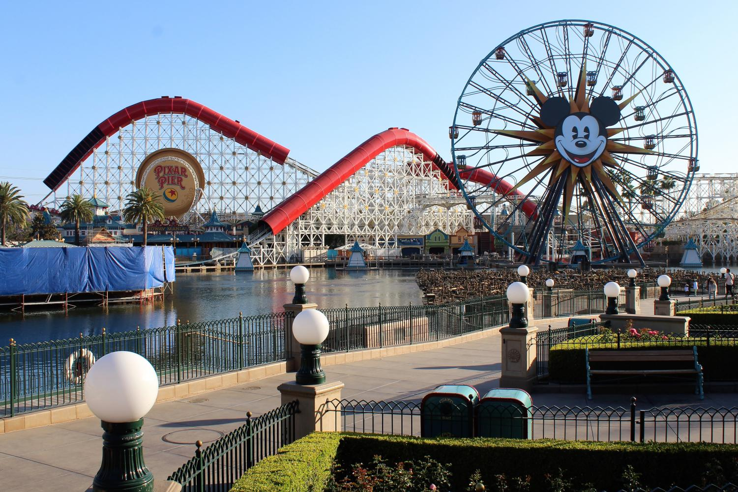 Pixar Pier will be under construction until June 23, which means that seniors will not be able to enjoy the new additions during their Grad Nite on June 9.