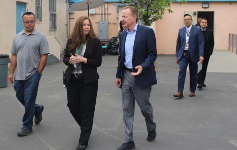 New Superintendent Austin Beutner visits campus