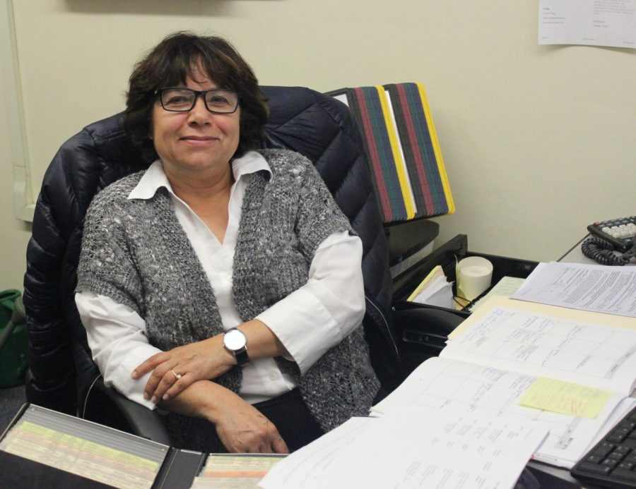 Previously working as the school administrator assistant (SAA) at Gledhill Elementary School, Lubia Gutierrez is replacing Wynter Walker, the former SAA who left in April.