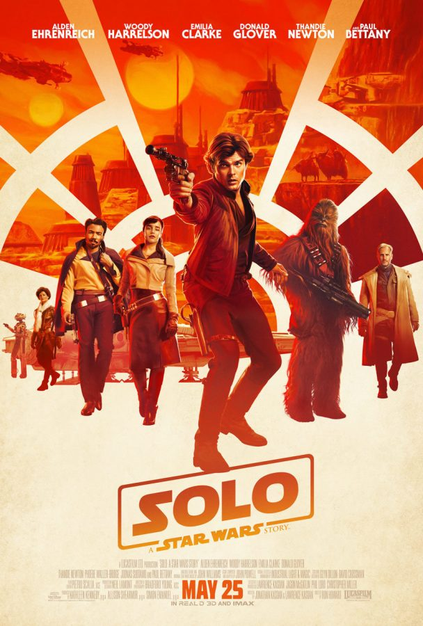 """Solo: A Star Wars Story"" will be released on May 25 featuring Han Solo (Alden Ehrenreich) who is an integral character from the original Star Wars franchise. This film is considered to be the second movie of the Star Wars anthology following ""Rogue One: A Star Wars Story."" The plot of ""Solo: A Star Wars Story"" precedes the first of the Star Wars trilogy, ""A New Hope,"" delving into Han Solo's excursions with Chewbacca, in particular their rendezvous with Lando Calrissian (Donald Glover) who is known as an old friend of Han."
