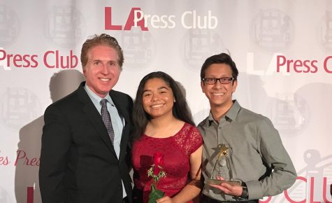 Newspaper and online publication both finalists in L.A Press Club awards
