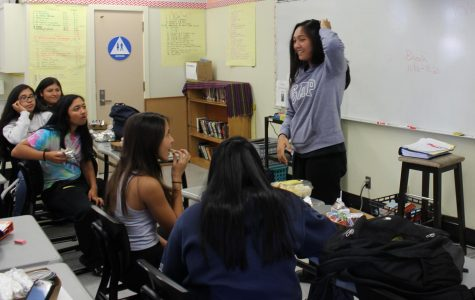 Filipino club president Keona Paniagua invites students to learn about Filipino culture.  Meetings take place every other Wednesday in room 15.