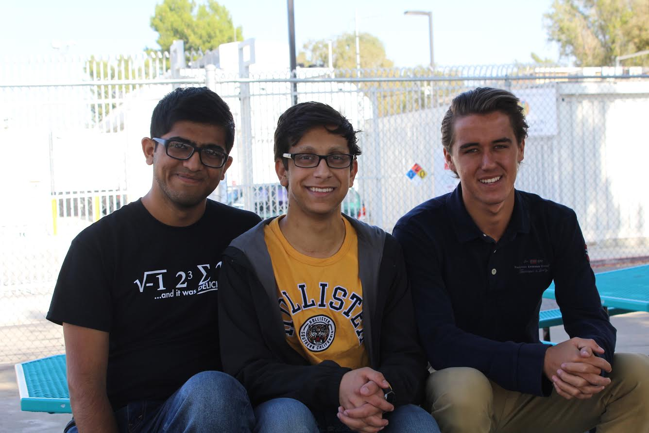 Seniors Rudraj Koppikar, Michael Chidbachian and Zachary Gephart- Canada all recieved perfect scores on certain portions of the SAT or ACT.