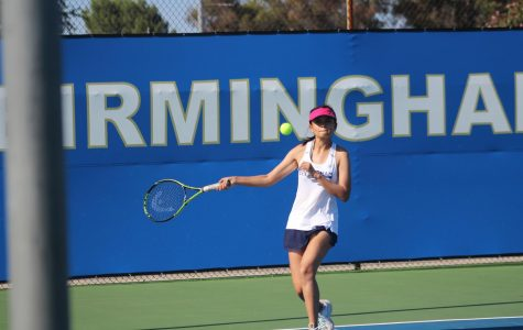 Girls tennis team improves compared to previous seasons