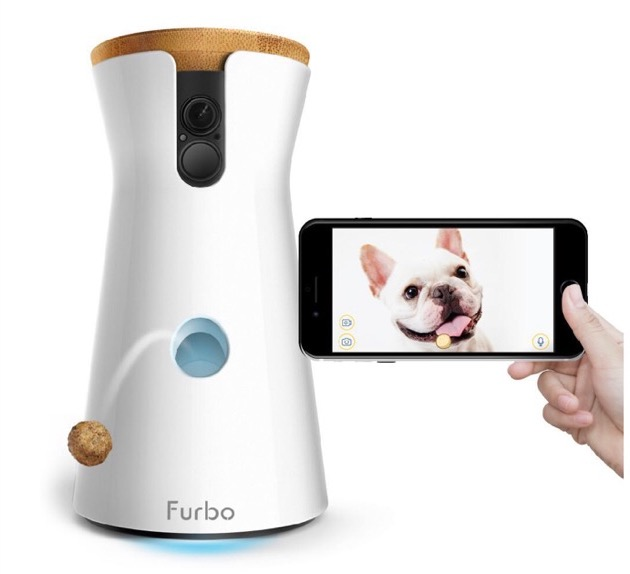 Furbo dog camera: This device has the ability alleviate separation anxiety in dogs because of its 2-way audio and full HD camera to monitor your pet. The gadget also has a fun treat tossing feature that can be filled with over 100 pieces of dog treats. It costs $134.99 on Amazon.