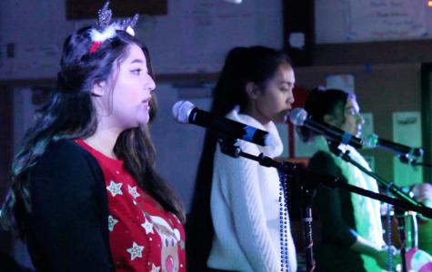 Video: Holiday cheer at the holiday concert
