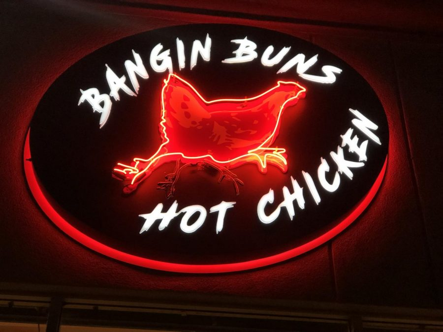 Located in North Hollywood, Bangin' Buns serves Nashville hot chicken.