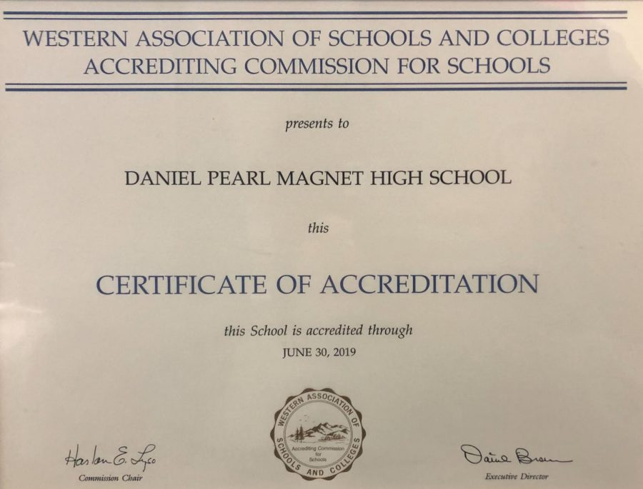 DPMHS was last accredited in 2013.