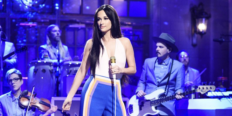 Thirty-year-old Kacey Musgraves performs