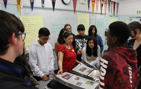 LA Times reporter inspires Journalism 1 students during classroom visit