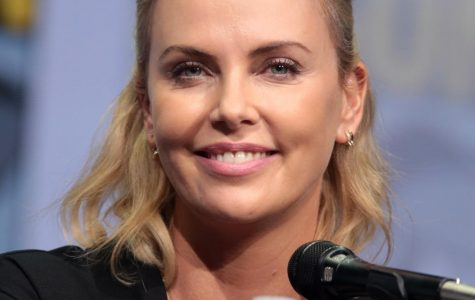 South African-born actress Charlize Theron stars alongside Seth Rogan in the new R-rated comedy