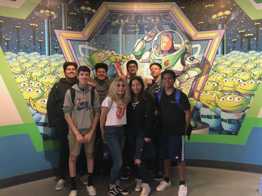 On April 30, students from The Pearl Post staff spent the day at Disneyland celebrating their accomplishments.