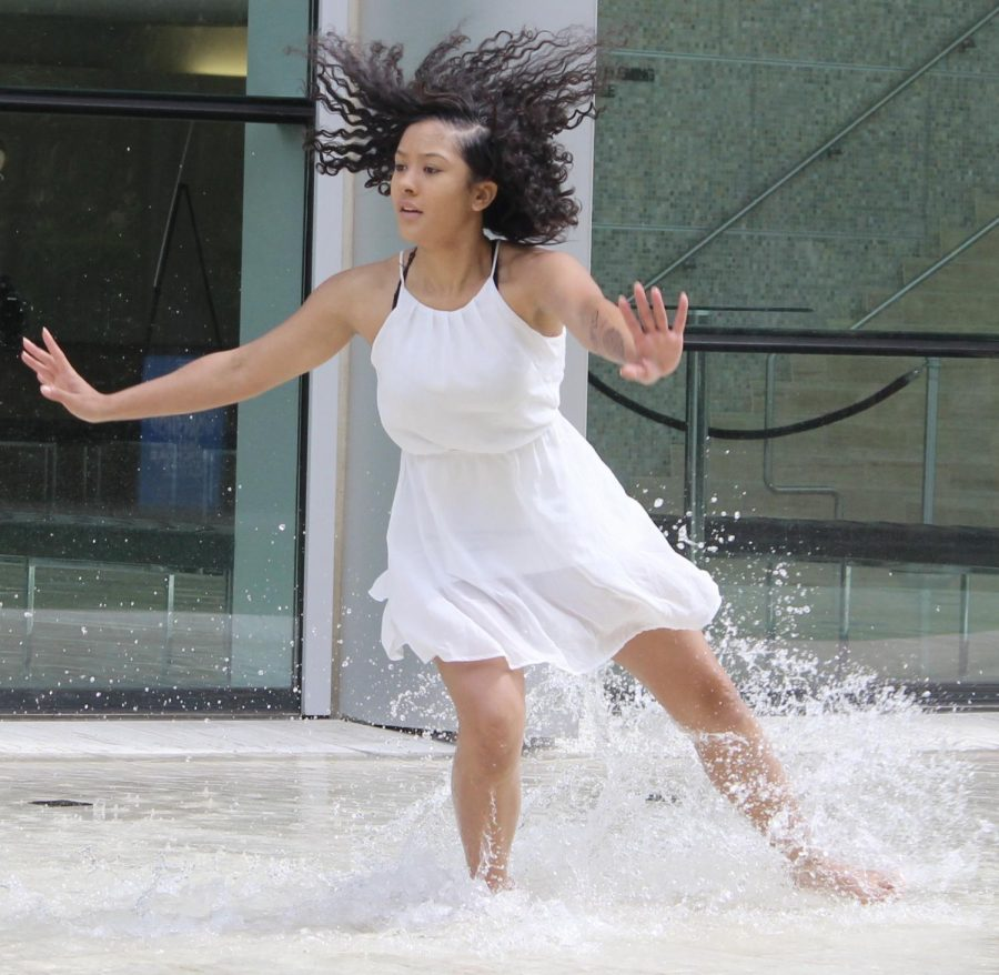 Students attended the Future Currents: Los Angeles River festival held at California State University Northridge and watched CSUN students perform dance pieces on April 5.