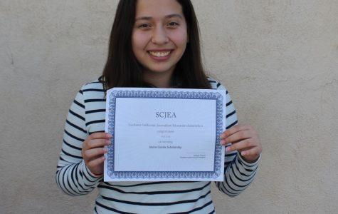 Staff Writer Luna receives summer workshop scholarship
