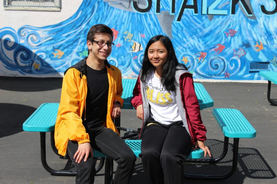 Online Editor-in-Chief Michael Chidbachian was named Valedictorian and Yearbook Design Editor Karina Mara was named Salutatorian.