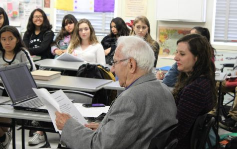 Holocaust survivor visits DPMHS to share story with students