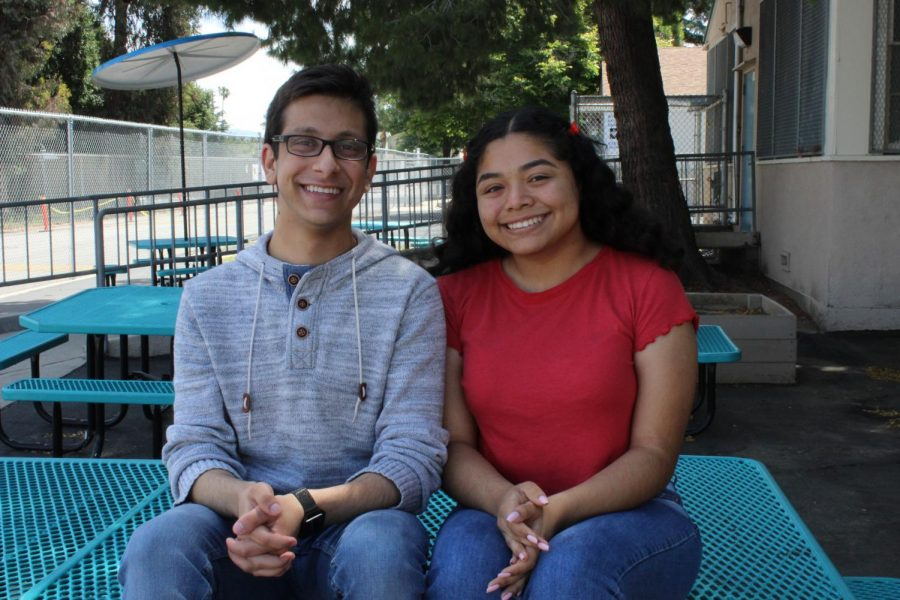 This was Online Editor-in-Chief Michael Chidbachian and Print Editor-in-Chief Kirsten Cintigo's third year on staff.