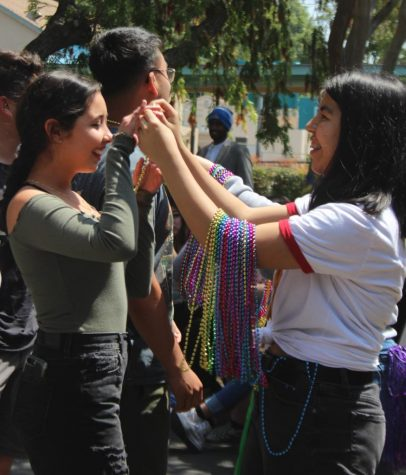 Students celebrate Fiesta Friday with Polaroid photoshoots and cricket tacos