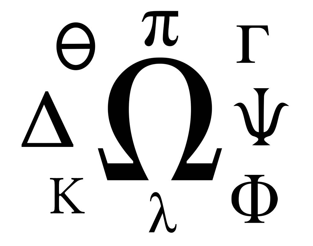 Since the founding of the first fraternity, Phi Betta Kappa in 1776, other fraternities have adopted Greek symbols to identify their groups.