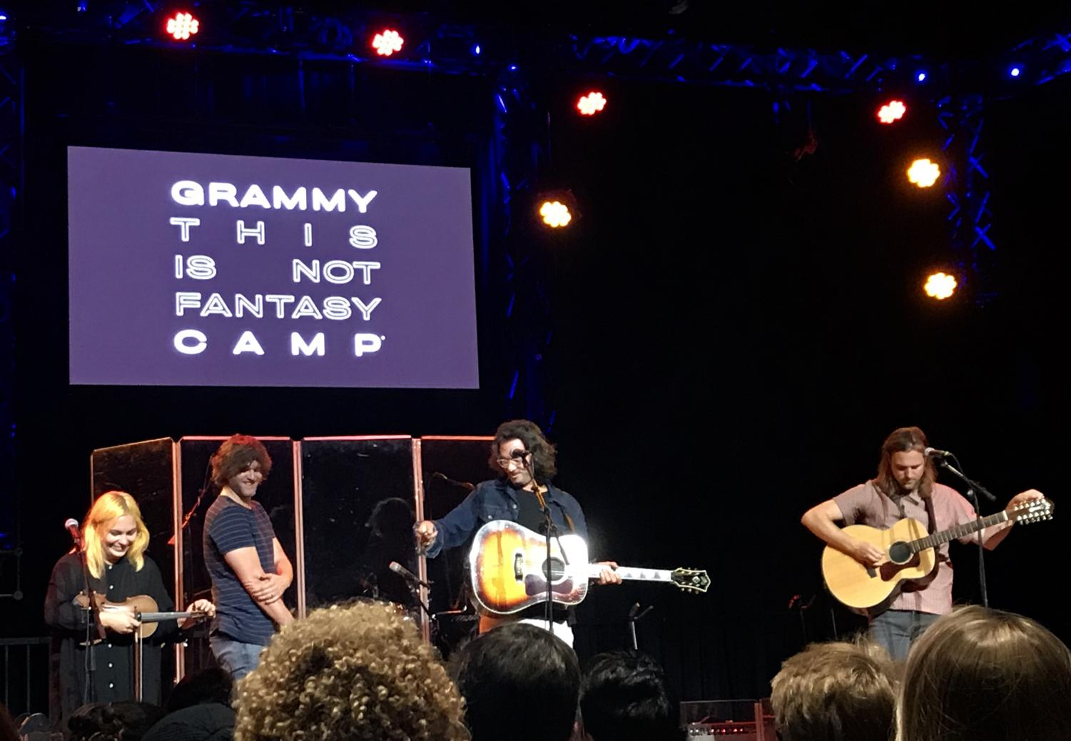 The+Head+and+the+Heart+perform+for+GRAMMY+campers+on+July+24.+