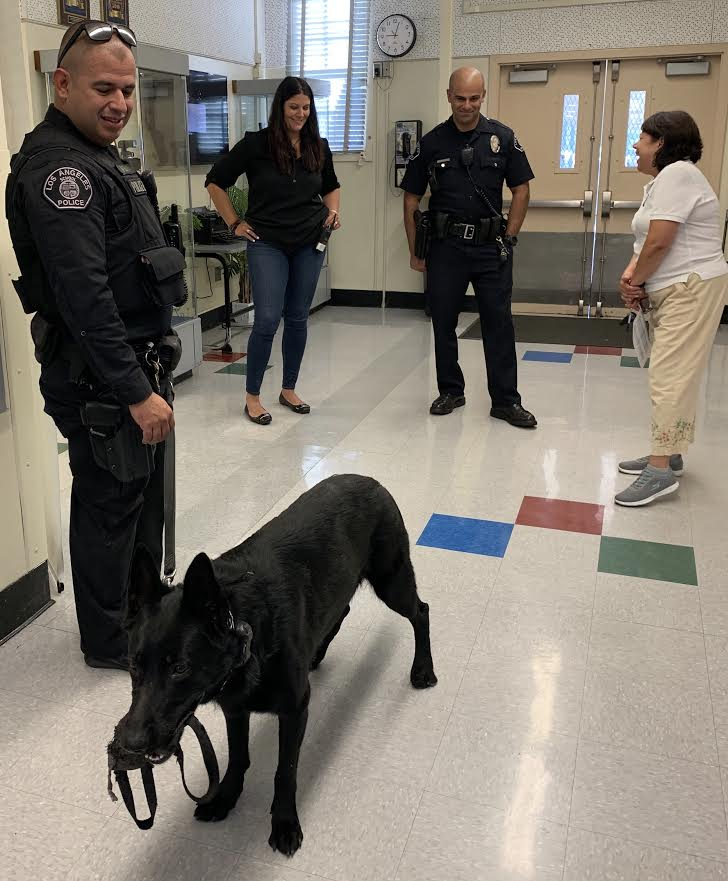 Police dog added to increase school safety