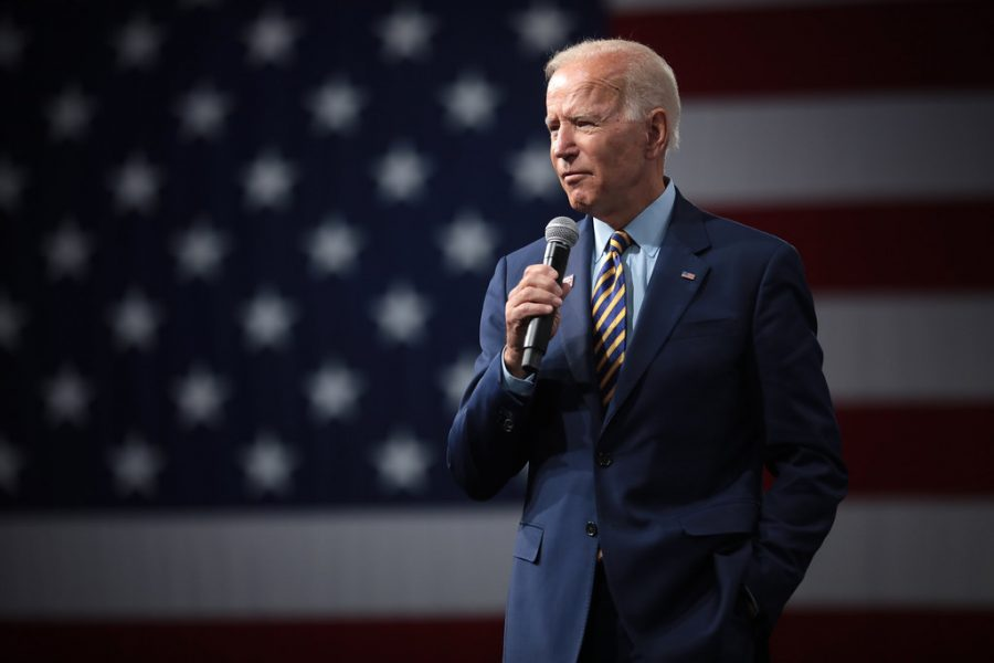 Joe Biden, former vice president and a frontrunner in recent polls, started his career in law initially as an attorney, later becoming one of the youngest U.S. Senators for the state of Delaware. After losing his 2008 presidential campaign, he was selected as Barack Obama's running mate, serving alongside him for two terms. His campaign values a strong emphasis on the middle-class people of America and bettering working conditions. Biden's plans include improving working conditions and ensuring that every American has the opportunity to attend a free two or four- year college. In terms of healthcare, he plans on expanding upon Obama's Affordable Care Act, having it compete against privately-owned insurance companies. This differs from other candidates' proposals for a Medicare-for-All plan that would serve as the primary healthcare source for everybody, eliminating the need for privately-owned healthcare providers. To tackle climate change, Biden has pledged to re-enter the Paris Climate deal as well as enstating his own personal policies once in office. In addition to improvements to the criminal justice system, the Former Vice President plans on taking preventative measures to eliminate racial profiling and harsh sentencing practices.