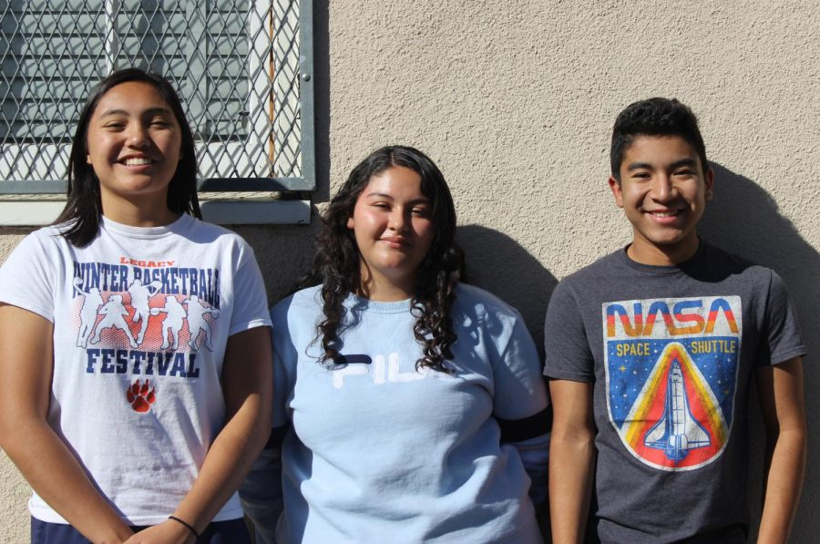 Three seniors are anxiously waiting to hear whether they made it to the third round of The Posse Foundation's scholarship. Keonabelle Paniagua, Isabelle Marin and Ivan Moreno are among the students Counselor Martina Torres recommended for this competitive scholarship that offers a full ride to private colleges.