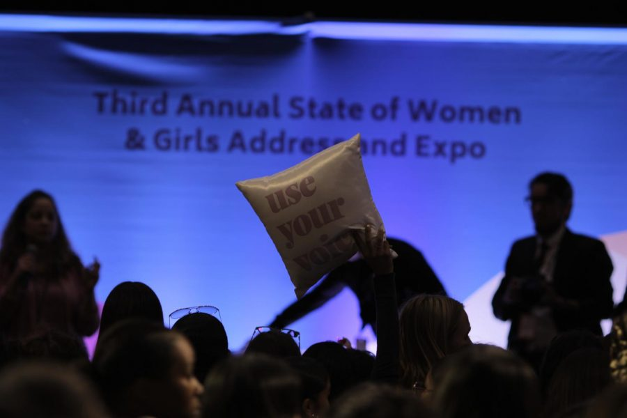 Junior and senior girls attended the Third Annual State of Women and Girls event held at the JW Marriot Hotel on Oct. 2.