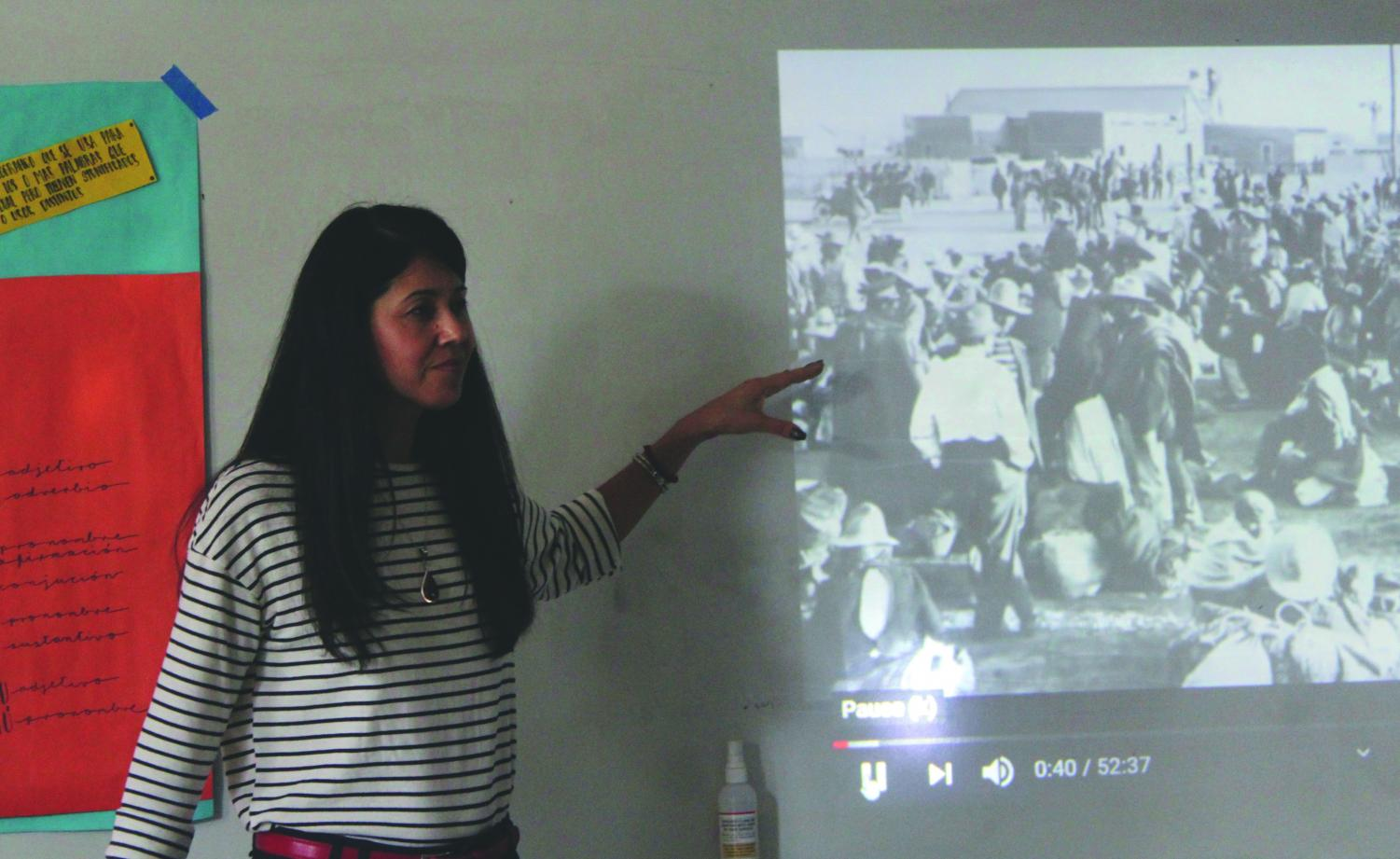 Spanish teacher Marta Rodriguez is now teaching Mexican American Studies course during period six.