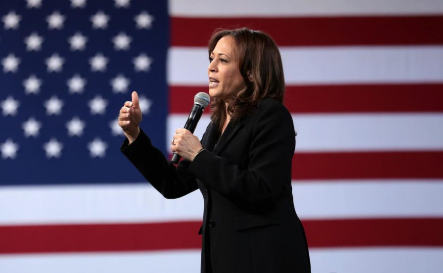 Kamala Harris, former district attorney and the state attorney general is running for president for the first time with a campaign based on providing a voice to the voiceless. Harris is in support of a Medicare-for-all system, criminal reform, a large and recurring topic for her campaign and stricter gun laws.  Her stance on college is similar to that of fellow candidates Warren and Biden, making two and four-year college free and canceling student debt. She plans on helping reform governmental and immigration systems in a beneficial way to the people, regardless of gender or sexual orientation. She has promised to appoint members of the  LGBTQ+ community in her cabinet and other top posts once elected. Her plans to raise teacher pay and combat climate change are both very popular among her supporters and possible voters.