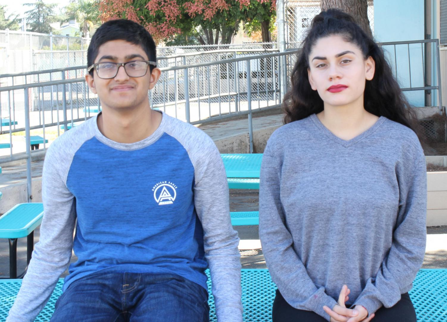 Print Editor-in-chief Parampreet Aulakh and Online Editor-in-chief Alondra Nuno hope this year is as successful as last year for the publication.