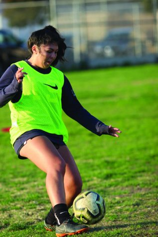 Athlete of the month: Tapia hopes to improve as a team leader