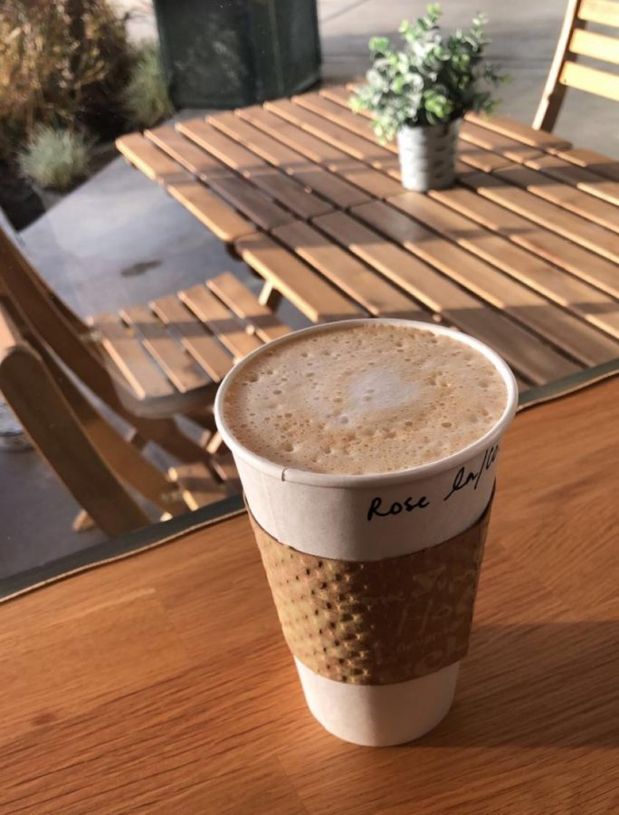 Duckyard Coffee House offers specialty coffee drinks and vegan food options.