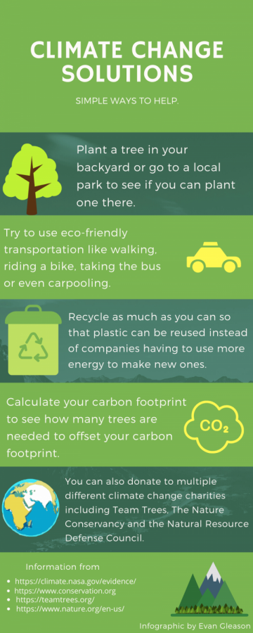 There are many quick and simple ways that students can help the environment.