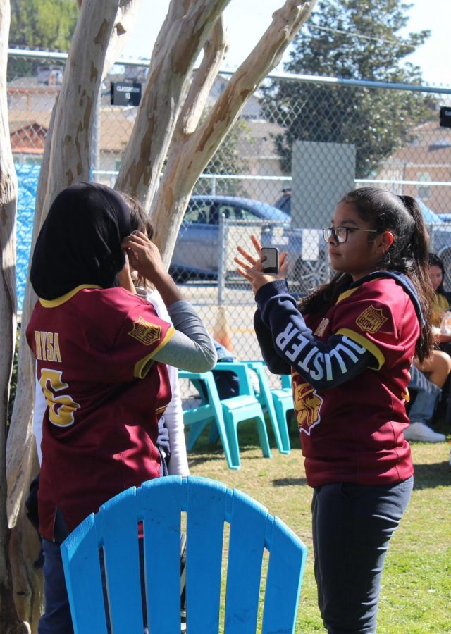 Middle school students had the opportunity to experience a Fiesta Friday on Feb. 7.